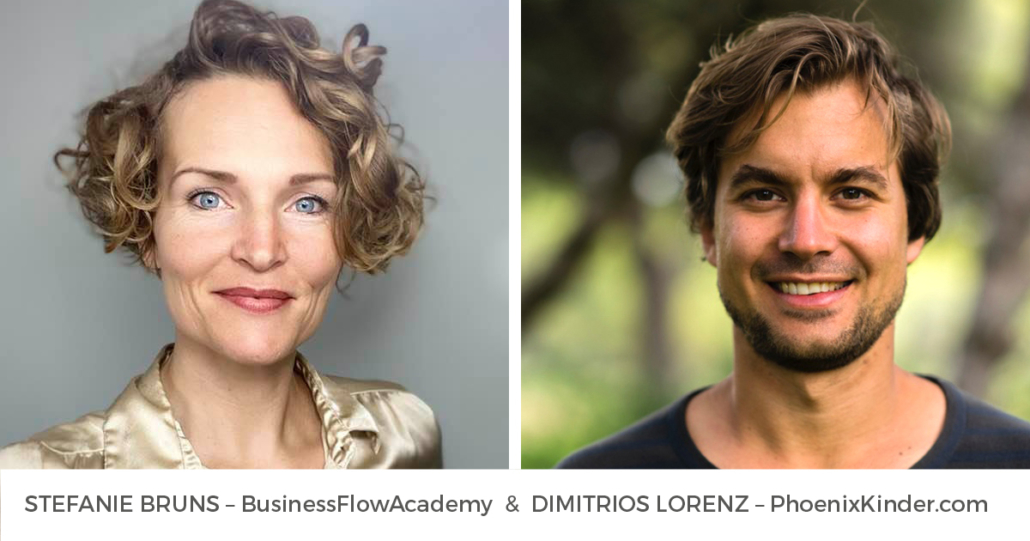 TRANSFORMATION MASTERY – Online TEACHING mit Stefanie Bruns und Dimitrios Lorenz